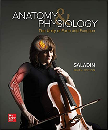 Anatomy & Physiology: The Unity of Form and Function 9th Edition eTextbook by Kenneth Saladin