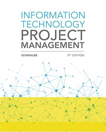 Information Technology Project Management 9th edition eTextbook by Kathy Schwalbe
