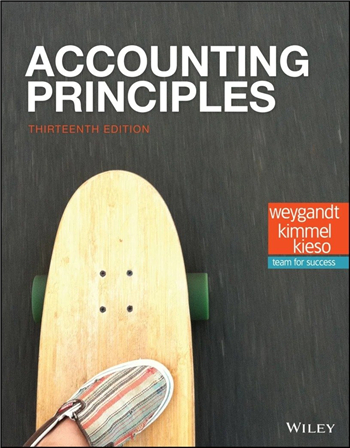 Accounting Principles, 13th Edition eTextbook by Weygandt, Kimmel, Kieso