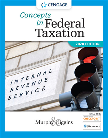 Concepts in Federal Taxation 2020 27th Edition eTextbook by Murphy, Higgins
