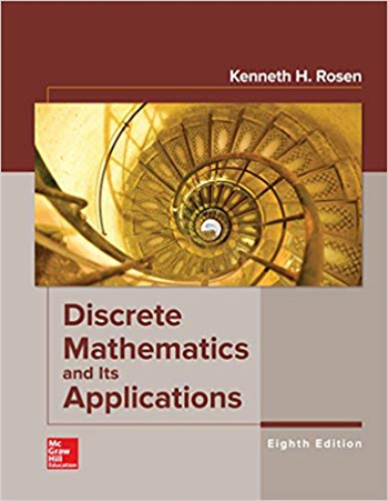 Discrete Mathematics and Its Applications 8th Edition eTextbook by Kenneth Rosen