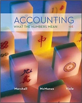 Accounting: What the Numbers Mean 10th Edition eTextbook by Marshall, McManus, Viele