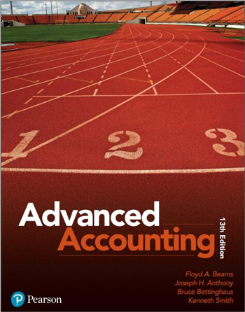 Advanced Accounting, 13th Edition eTextbook by Beams, Anthony, Bettinghaus, Smith