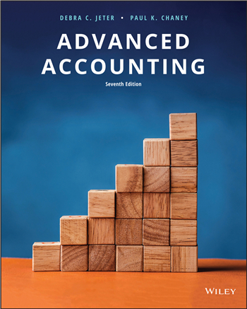 Advanced Accounting, 7th Edition eTextbook by Jeter, Chaney