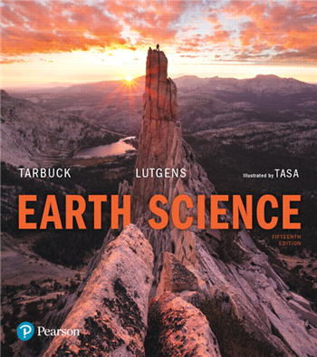 Earth Science, 15th Edition eTextbook by Tarbuck, Lutgens, Tasa