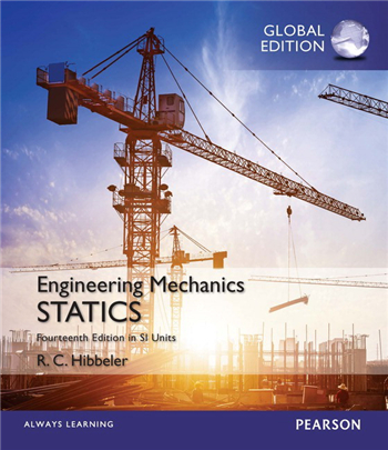Engineering Mechanics: Statics in SI Units, Global Edition, 14th Edition
