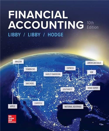 Financial Accounting 10th Edition eTextbook by Libby, Libby, Hodge