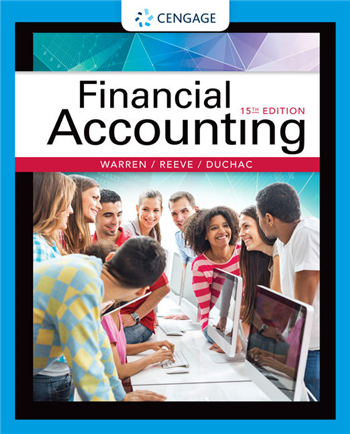 Financial Accounting 15th Edition eTextbook by Warren, Reeve, Duchac