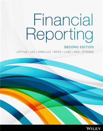 Financial Reporting 2nd Edition eTextbook by Loftus, Leo, Daniliuc, Boys, Luke, Ang, Byrnes