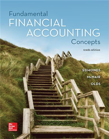 Fundamental Financial Accounting Concepts 10th Edition
