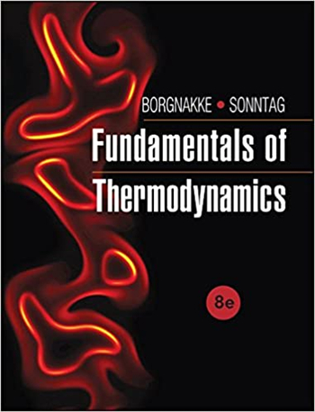 Fundamentals of Thermodynamics 8th Edition eTextbook by Borgnakke, Sonntag