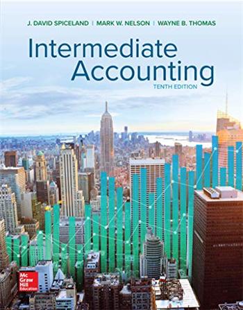 Intermediate Accounting 10th Edition eTextbook by David Spiceland, Mark Nelson, Wayne Thomas