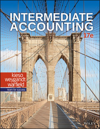 Intermediate Accounting 17th Edition eTextbook by Kieso, Weygandt, Warfield