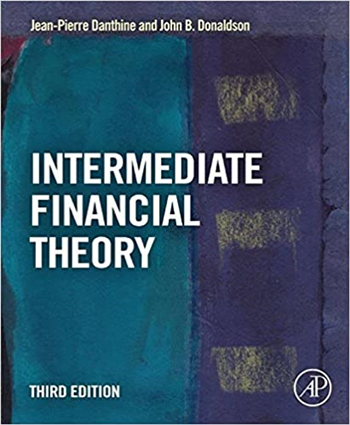 Intermediate Financial Theory, 3rd Edition eTextbook by Jean-Pierre Danthine, John Donaldson