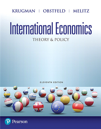 International Economics: Theory and Policy, 11th Edition eTextbook by Krugman, Obstfeld, Melitz