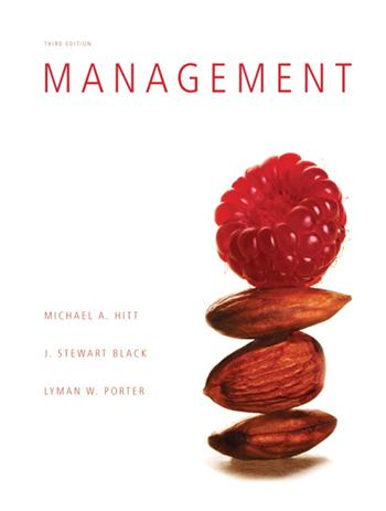 Management, 3rd Edition eTextbook by Michael Hitt, Stewart Black, Lyman W. Porter