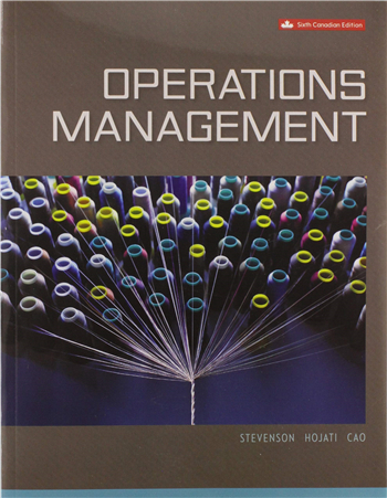 Operations Management 6th Canadian Edition eTextbook by Stevenson, Hojati, Cao