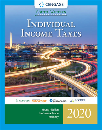 South-Western Federal Taxation 2020: Individual Income Taxes, 43rd Edition