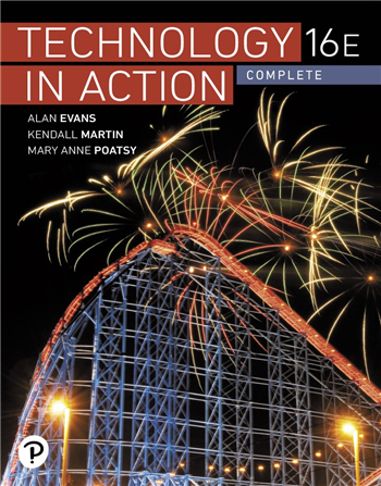 Technology In Action Complete 16th Edition