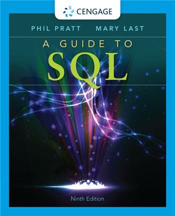 A Guide to SQL 9th Edition eTextbook by Philip Pratt, Mary Last