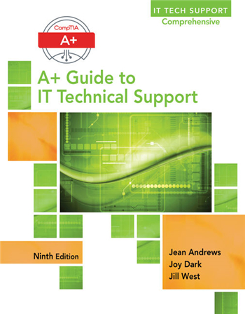 CompTIA A+ Guide to IT Technical Support 9th Edition