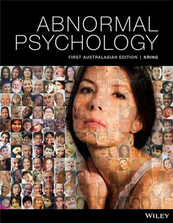 Abnormal Psychology 1st Edition eTextbook by Kring