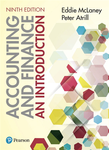 Accounting and Finance An Introduction, 9th Edition eTextbook by Eddie McLaney, Peter Atrill