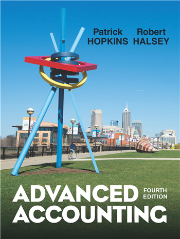 Advanced Accounting 4th edition eTextbook by Patrick E. Hopkins, Robert F. Halsey