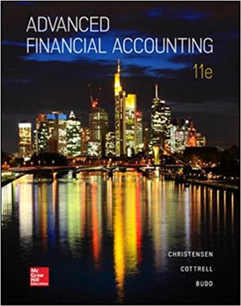 Advanced Financial Accounting 11th Edition eTextbook by Christensen, Cottrell, Budd