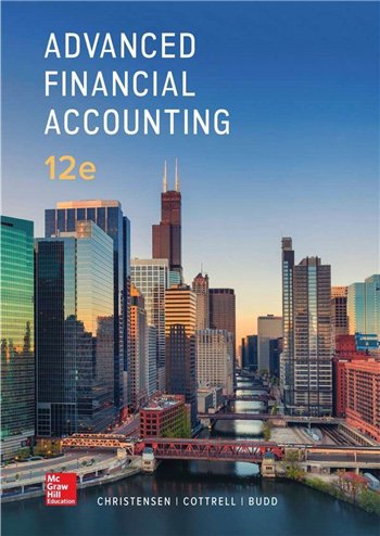 Advanced Financial Accounting 12th Edition eTextbook