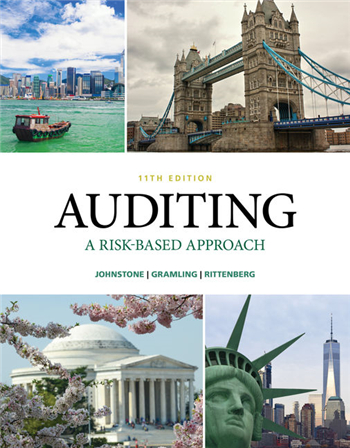Auditing: A Risk-Based Approach 11th Edition eTextbook by Johnstone, Gramling, Rittenberg