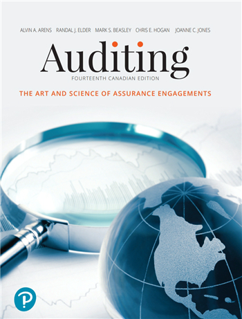 Auditing: The Art and Science of Assurance Engagements, 14th Canadian Edition