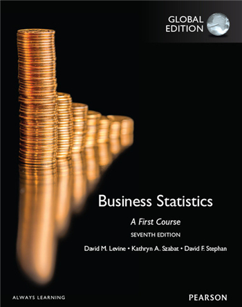 Business Statistics A First Course, 7th Global Edition