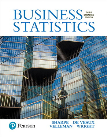 Business Statistics, Third Canadian Edition, 3rd edition