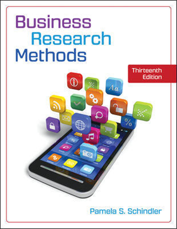 Business Research Methods 13th Edition eTextbook by Pamela Schindler