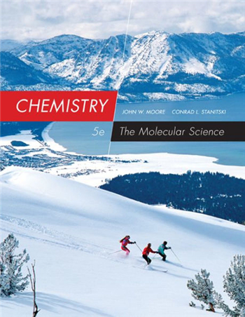 Chemistry: The Molecular Science 5th Edition