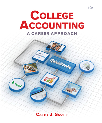 College Accounting: A Career Approach, 12th Edition eTextbook by Cathy J. Scott