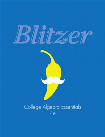 College Algebra Essentials 4th Edition eTextbook by Robert F. Blitzer