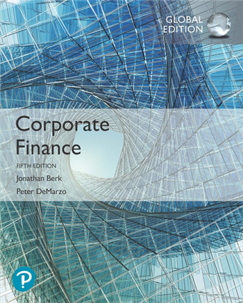 Corporate Finance, Global Edition 5th Edition eTextbook by Berk, DeMarzo