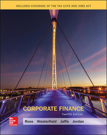 Corporate Finance, 12th Edition eTextbook by Ross, Westerfield, Jaffe, Jordan