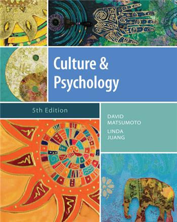 Culture and Psychology, 5th Edition eTextbook by David Matsumoto, Linda Juang