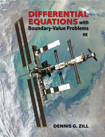 Differential Equations with Boundary-Value Problems, 9th Edition by Dennis G. Zill
