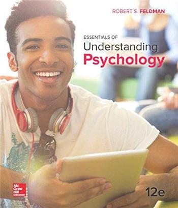 Essentials of Understanding Psychology 12th Edition by Robert S. Feldman