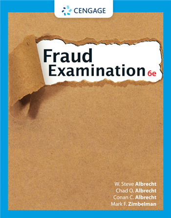 Fraud Examination 6th Edition by Albrecht, Albrecht, Albrecht, Zimbelman