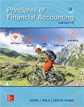 Principles of Financial Accounting (Chapters 1-17) 24th Edition
