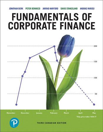 Fundamentals of Corporate Finance, 3rd Canadian Edition