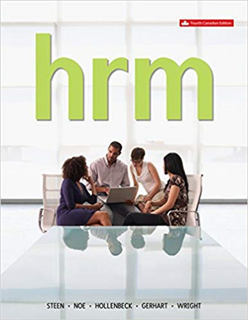 Human Resource Management, 4th Canadian Edition
