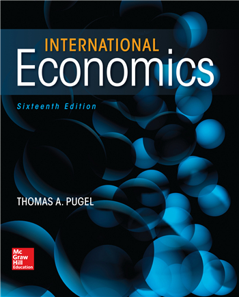 International Economics 16th Edition eTextbook by Thomas Pugel