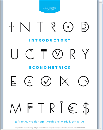 Introductory Econometrics: Asia Pacific Edition