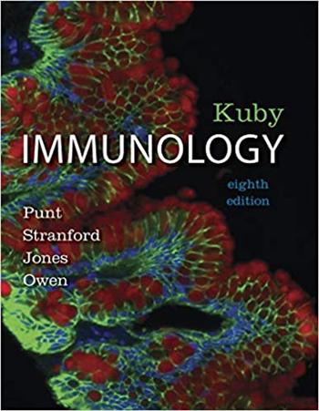 Kuby Immunology, 8th Edition eTextbook by Punt, Stranford, Jones, Owen